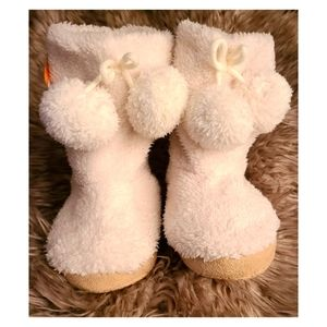 Girl's House Slippers Booties By Gymboree